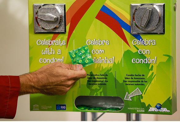 Rio 2016 , free condoms - meme