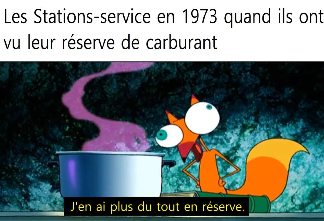 choc pétrolier de 1973 - meme