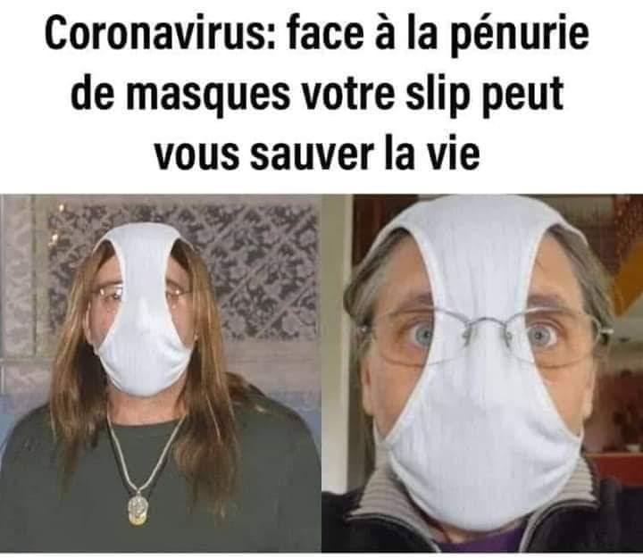 slip de face pour faces de cul - meme