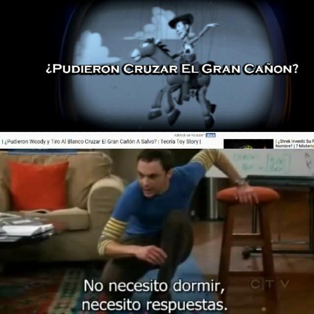 Igual yo, Sheldon - meme