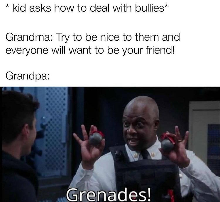 thanks grandpa - meme