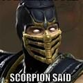 Tua mãe é tão feia q o scorpion disse: continua aí mesmo!!!