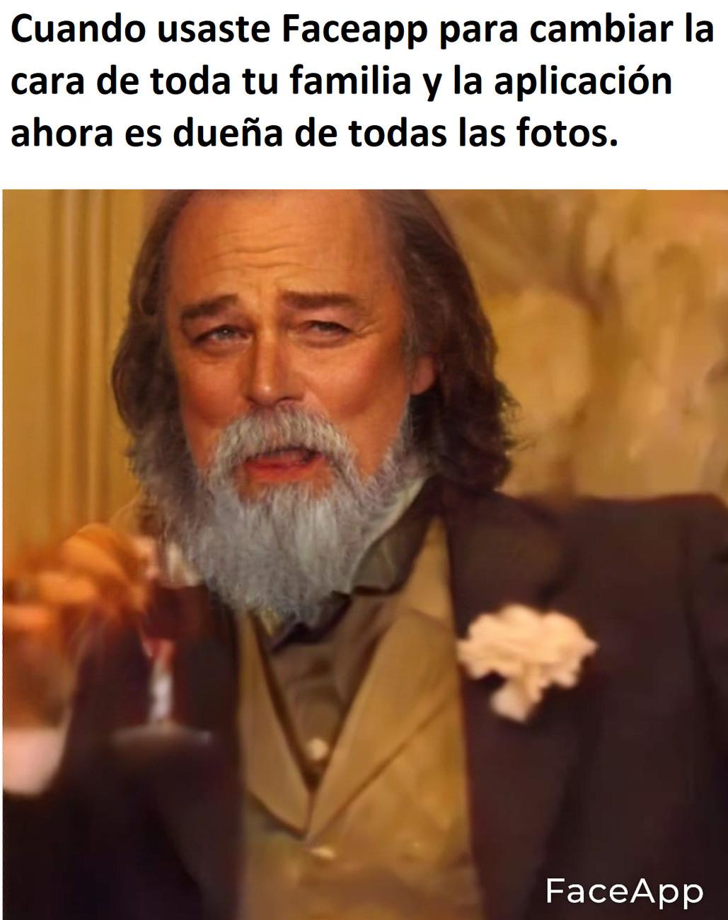 Faceapp - meme