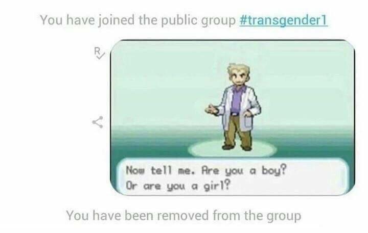 Transgender - meme