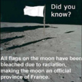 The moon is now a proviince of France