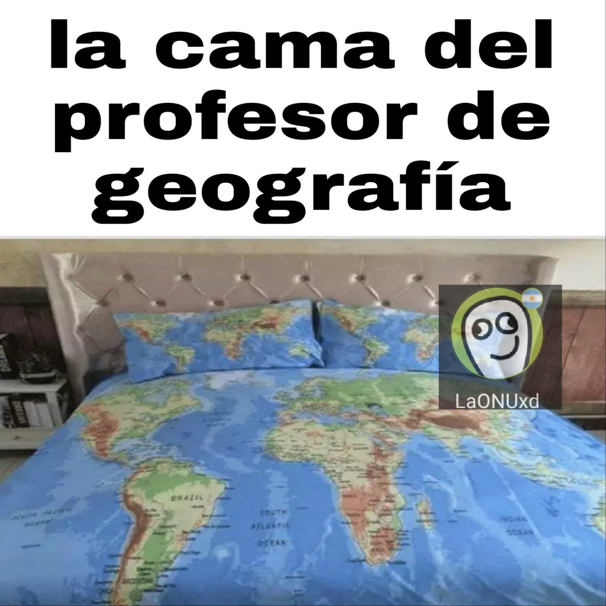 Geografía - meme
