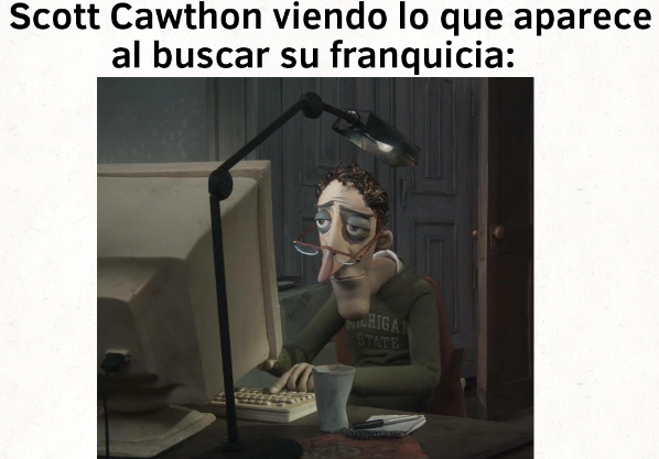 Scott Cawthon: :scaredyao: - meme