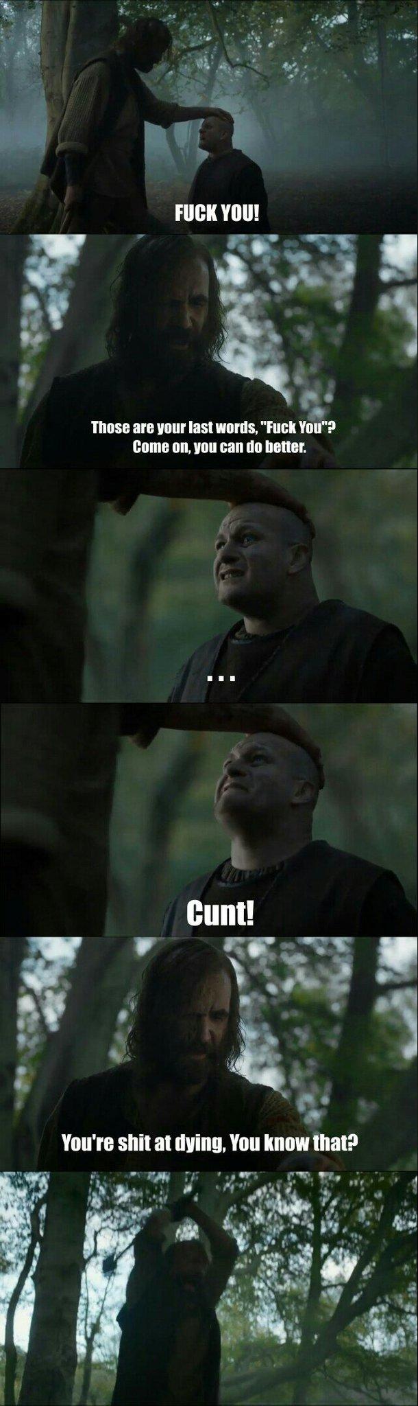The Hound <3 - meme