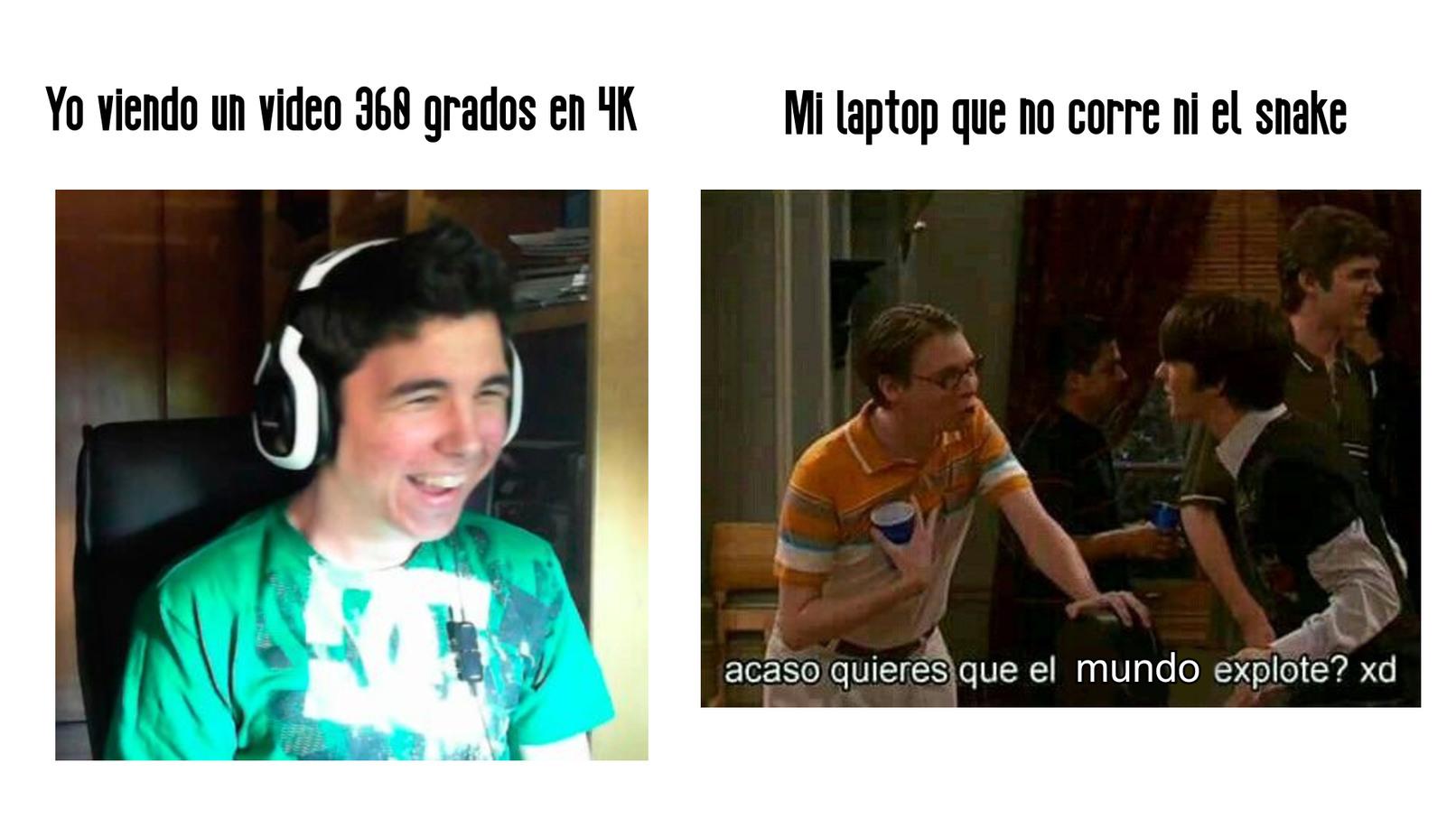 ACASO QUIERES QUE EL MUNDO EXPLOTE!? - meme