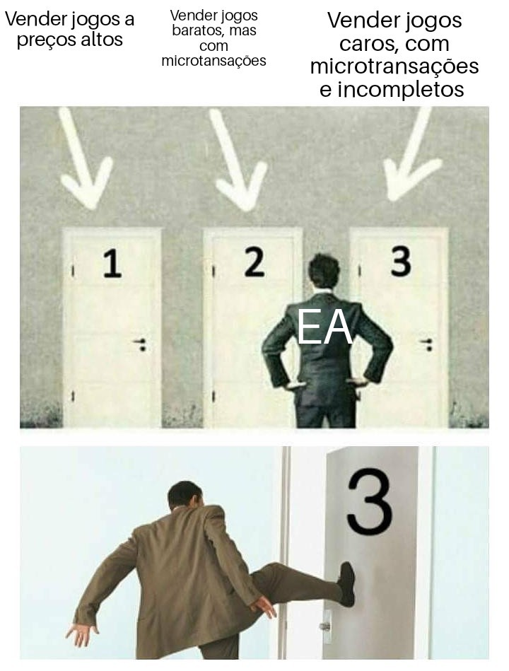 EA gostosa, sim isso mesmo, virei empresasexual - meme