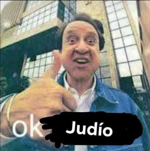 Judío el que se ofenda - meme