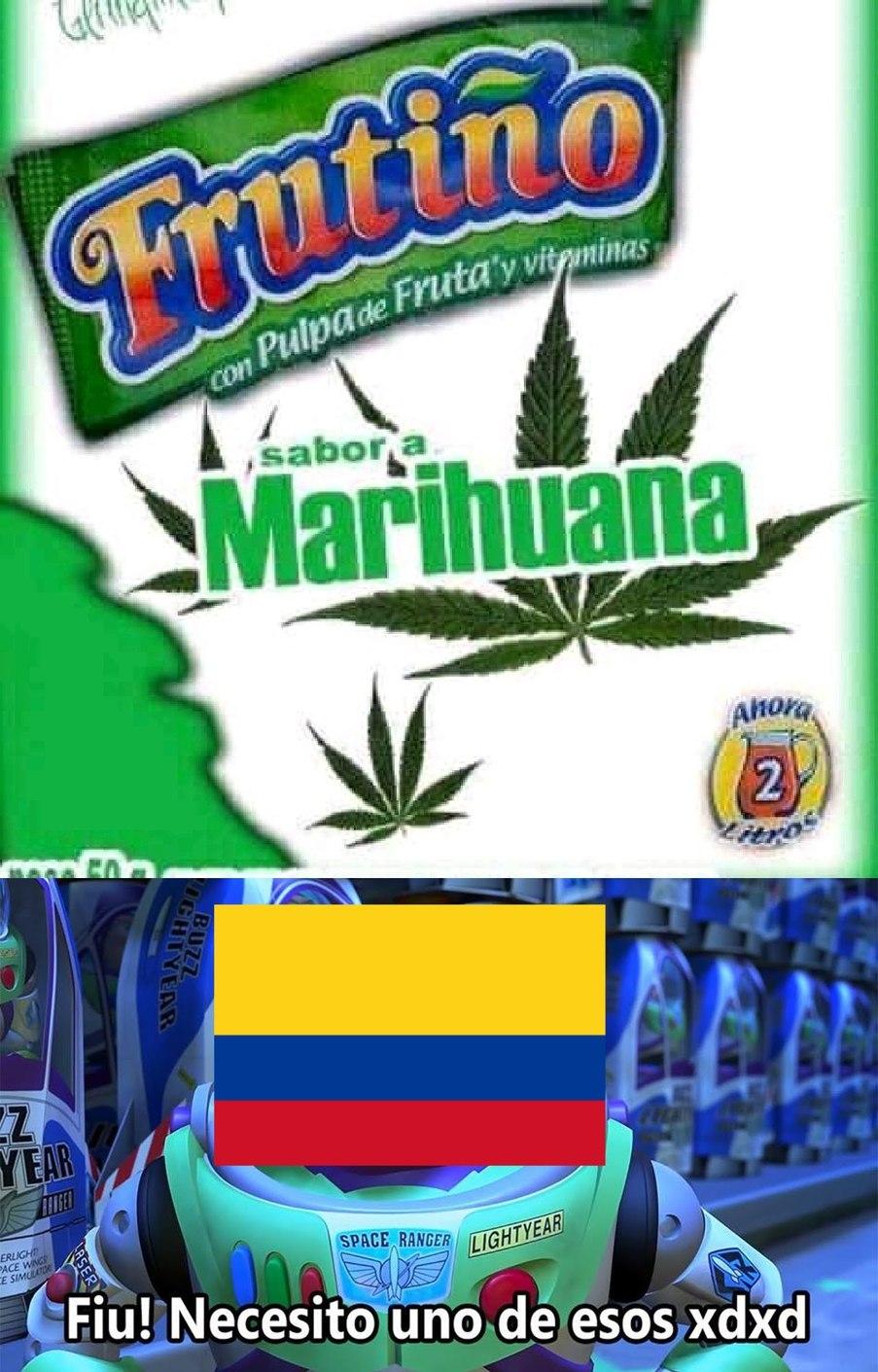 Para colombia - meme