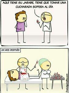 Cucharada - meme
