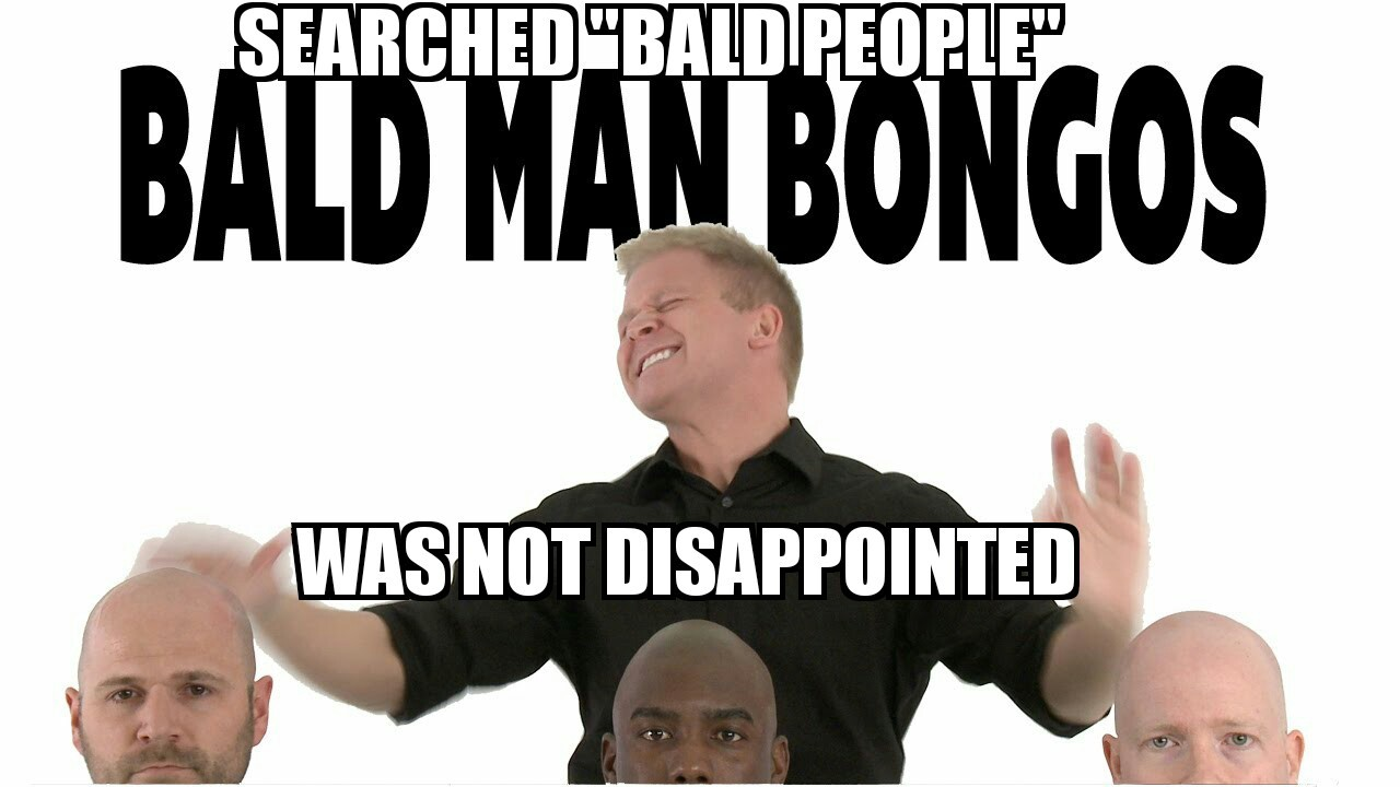 Bald people - meme