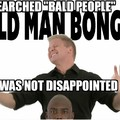 Bald people