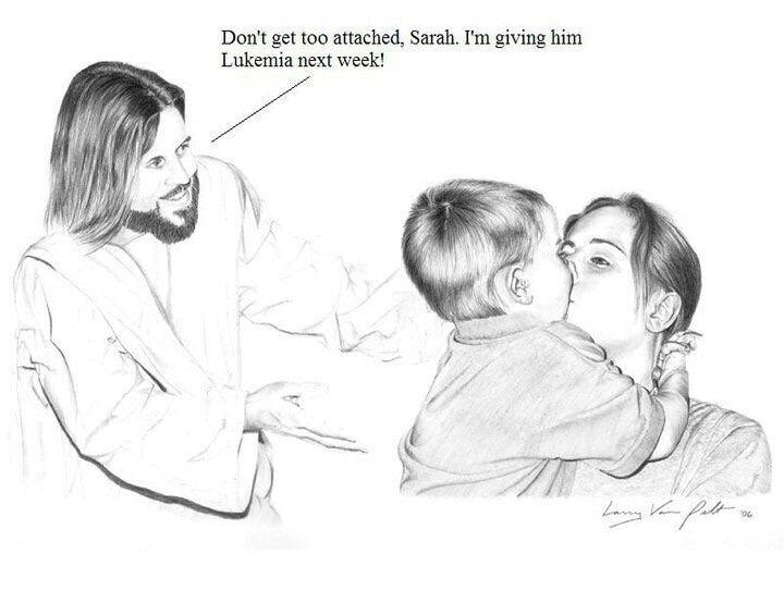 Jesus take the wheel - meme