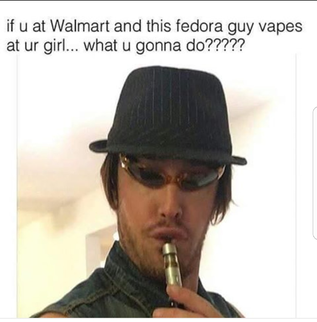 Guy in fedora