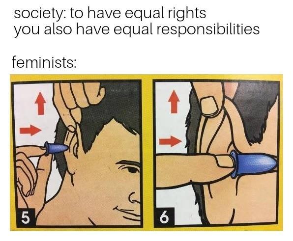 We want equality - meme