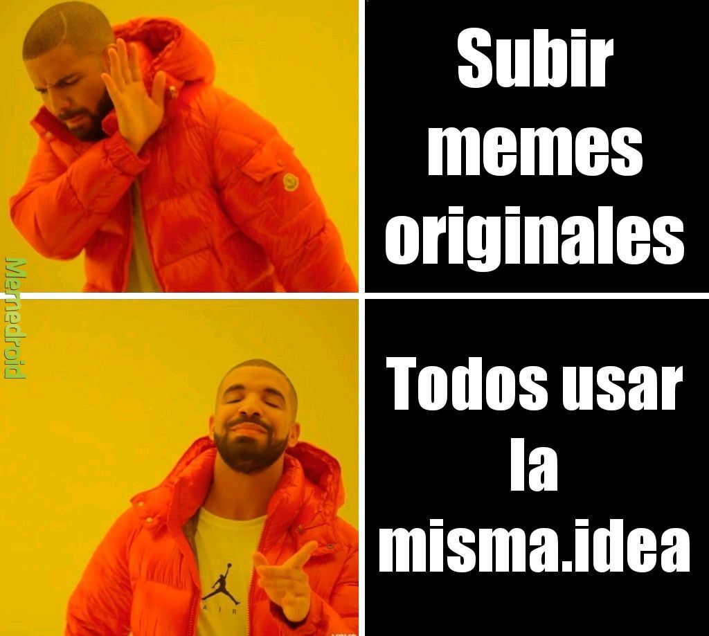 Copia tras copia - meme
