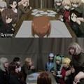 Anime>réalité