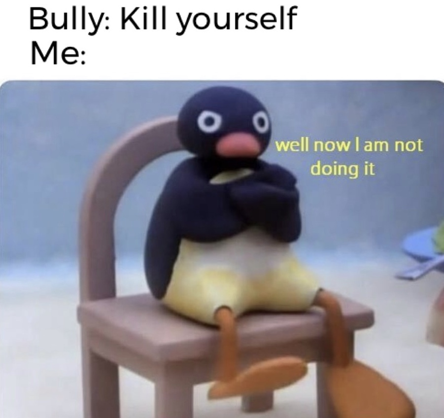 suicidal :) - meme