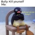 suicidal :)
