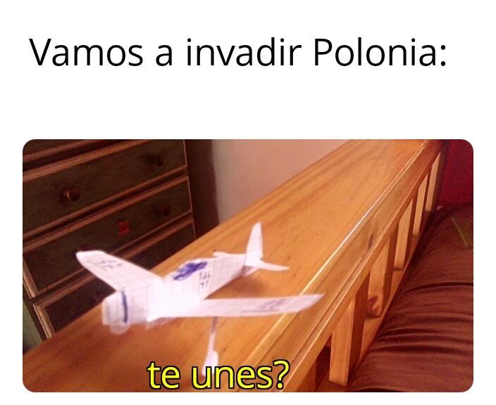 Ta facha mi avion de papel - meme