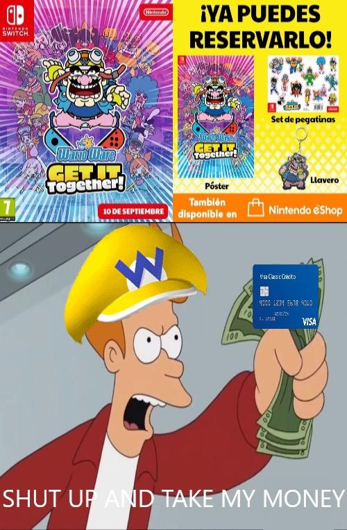 warioWare Meme