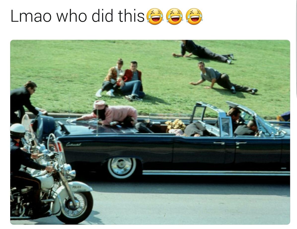 Who shot jfk - meme