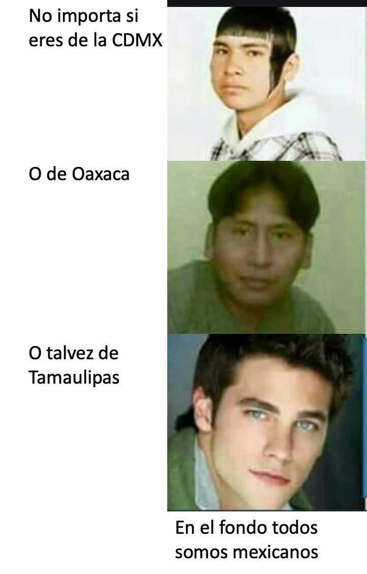 EN EL FONDO TODOS SOMOS MEXICANOS - meme