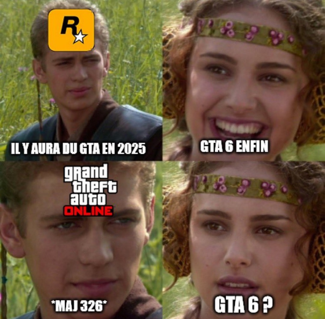 Toujours pas de GTA 6 - meme