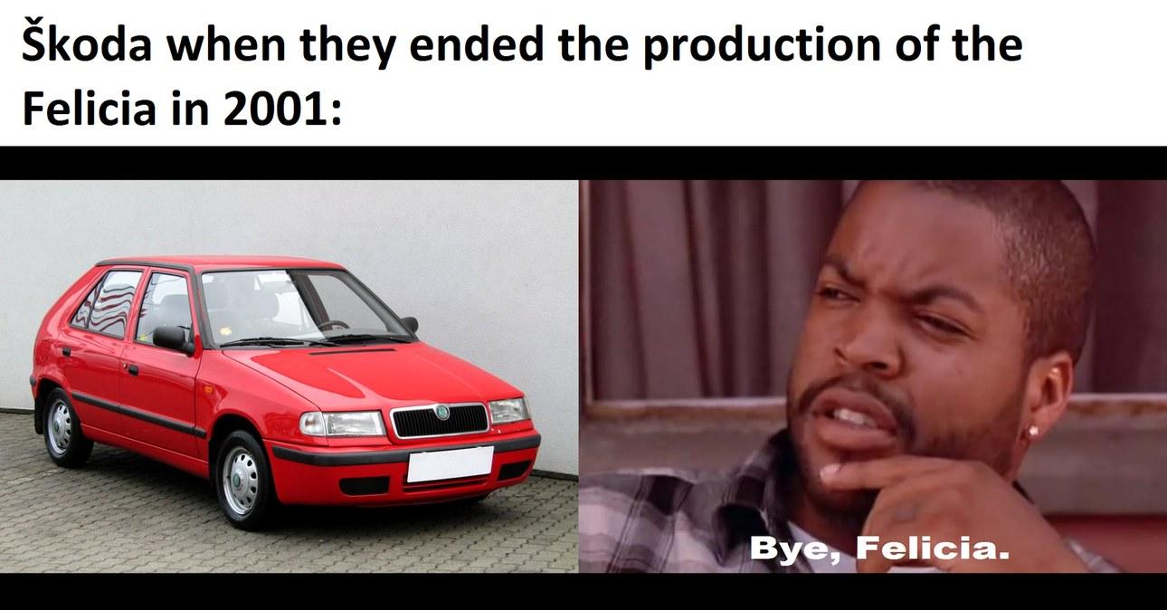 Škoda Felicia (1994 - 2001; facelift in 1998) - meme