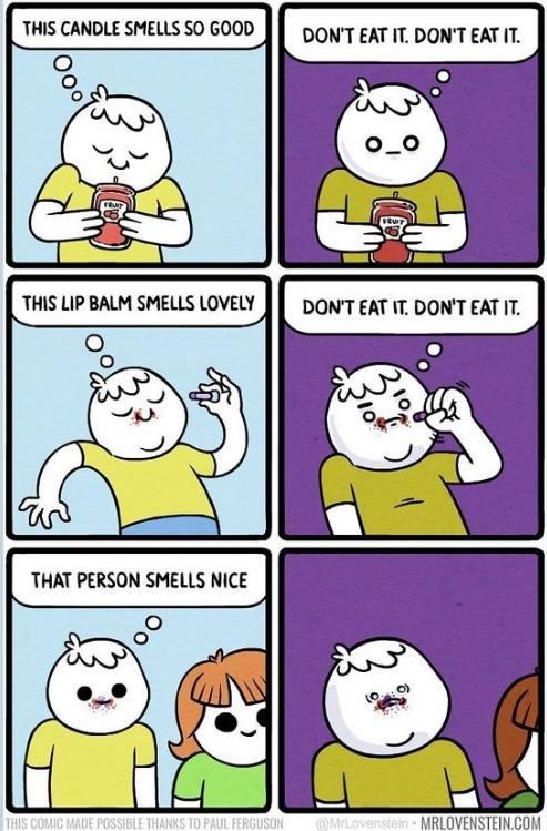 smells nice - meme