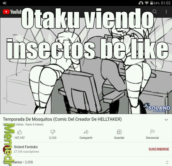 Pobres incectos - meme