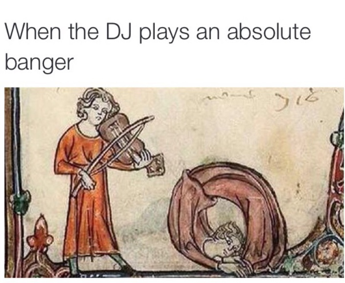 Dj get off the game and play musikkk plz - meme