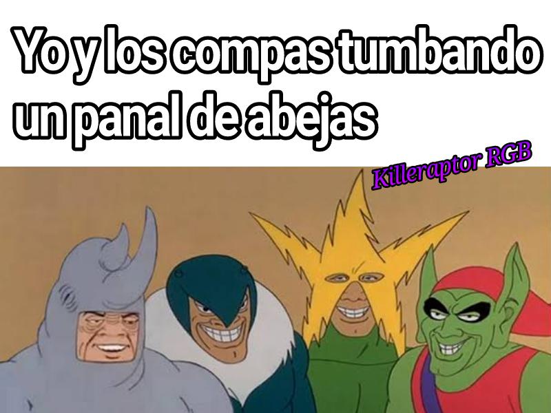 Yo y los compas ._.XD - meme