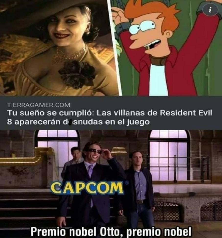 Premio Novel Capcom! - meme