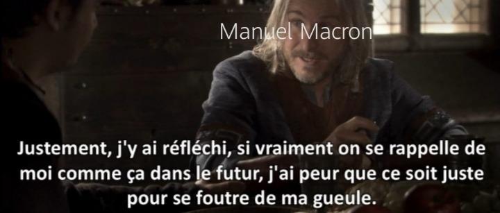 Manu macron - meme