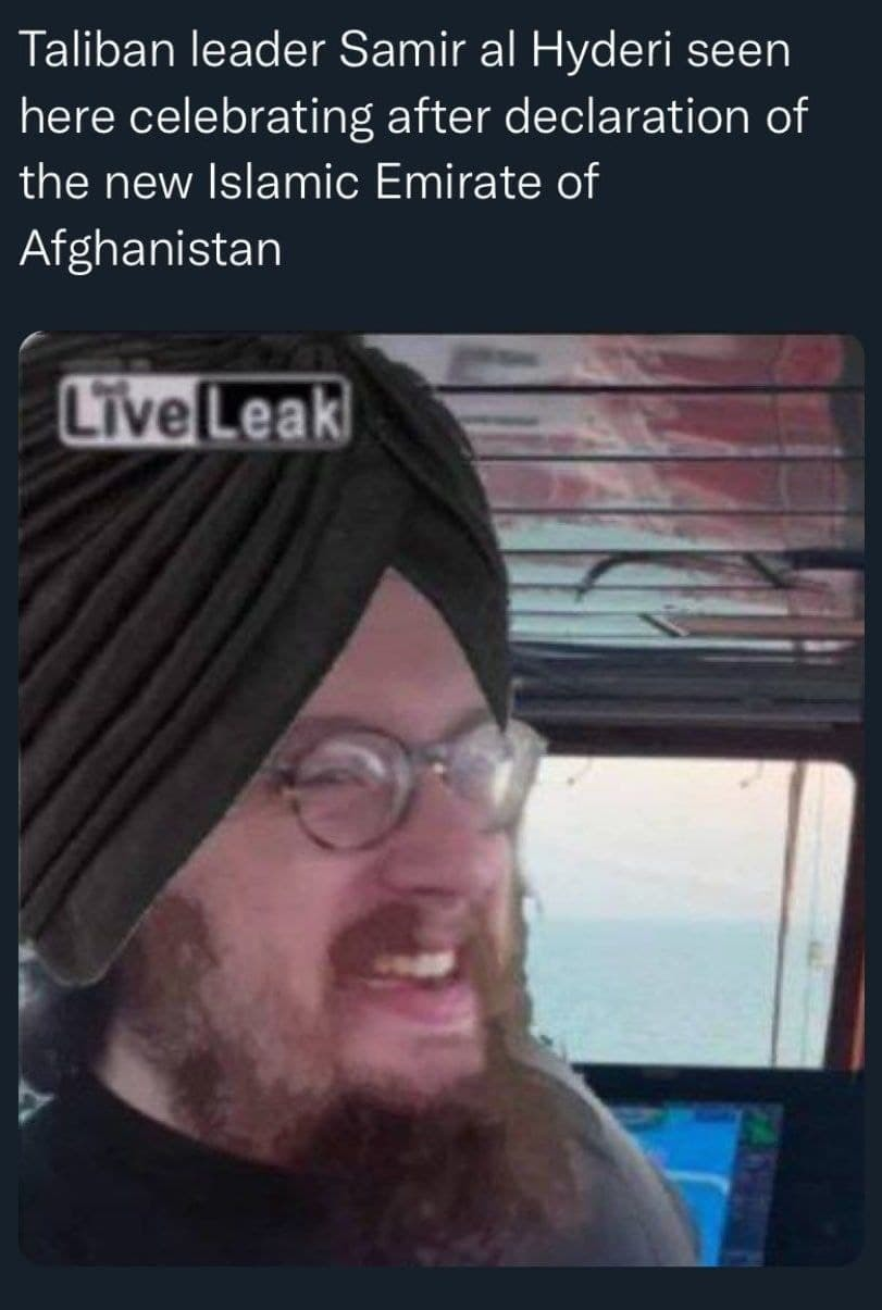 damn it, not again, when does this man's terror ever stop - meme