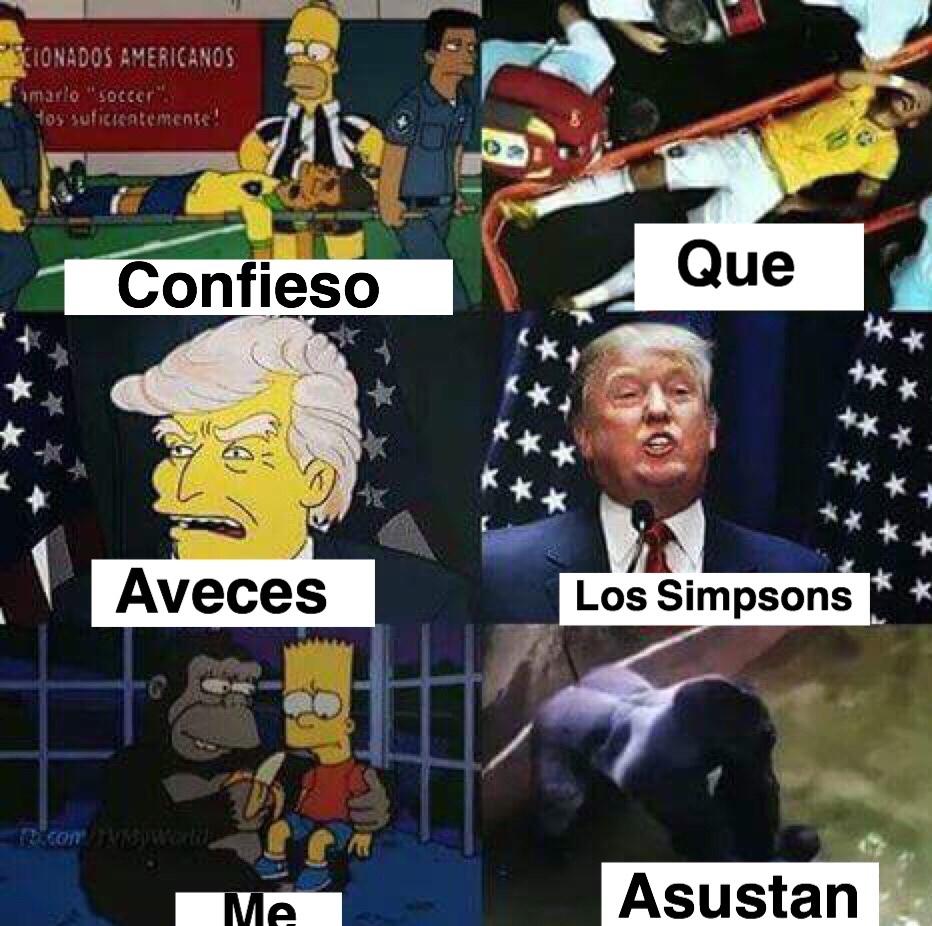 Los Simpsons AHR - meme