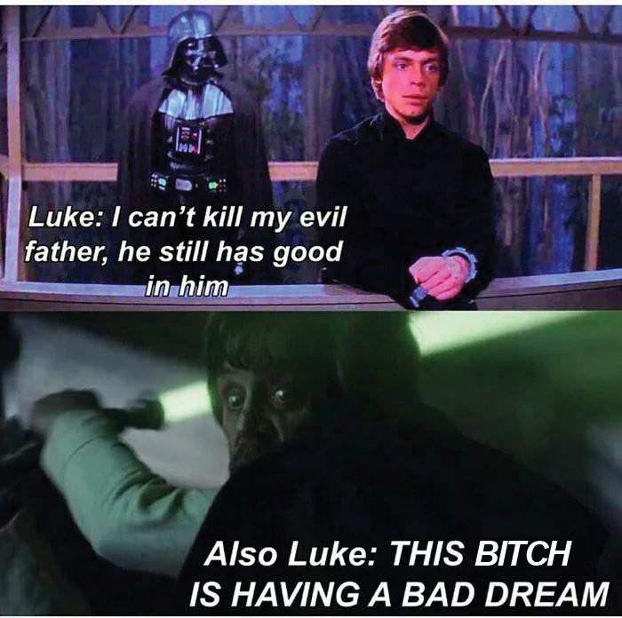 Bad dreams of bad memes