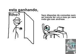 titulo não roda gta san andreas - meme