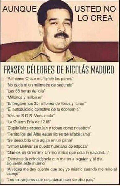 Nicolas maduro - meme