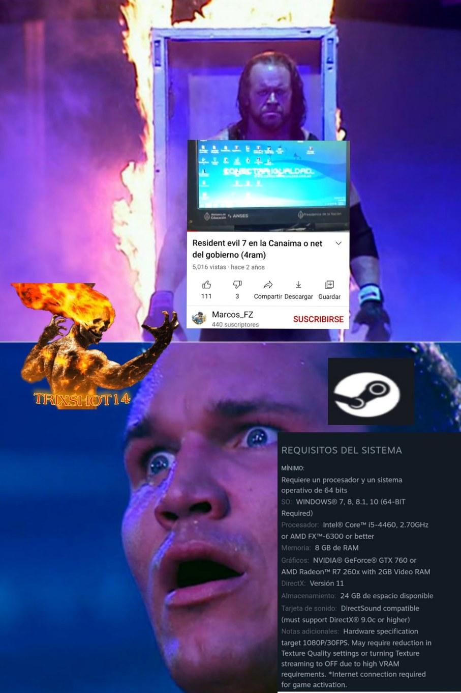 Le corria a unos 17 a 24 fps    pd: el proximo meme sera sobre el rac1sM0