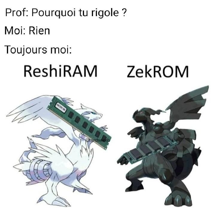 C'est quoi votre version favorite de Pokémon ? - meme