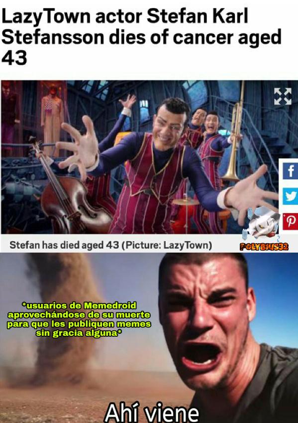 Negarlo es inútil - meme
