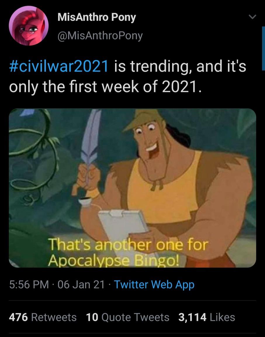 2021 is now 2020 2.0 - meme