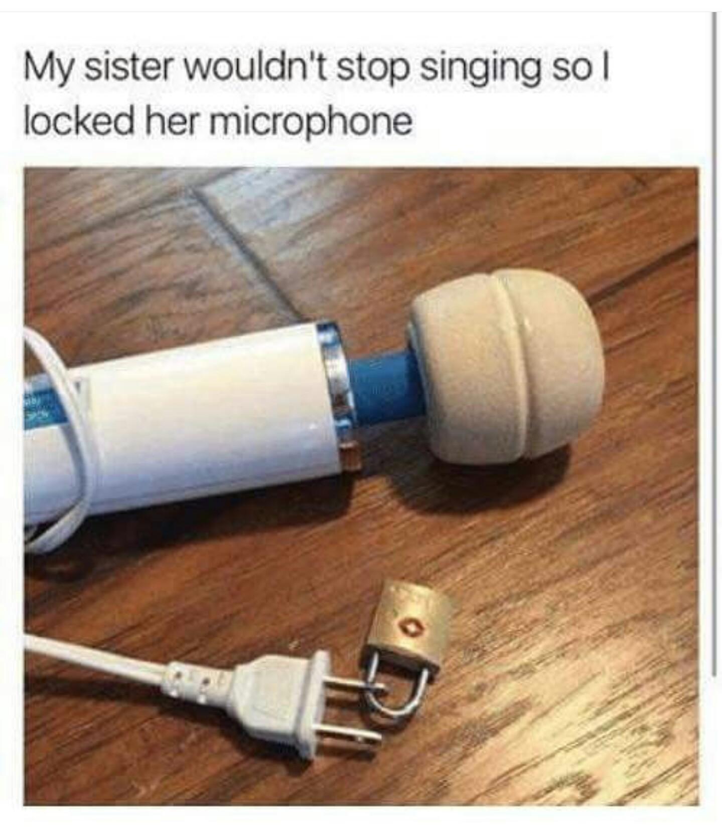 Not a mic