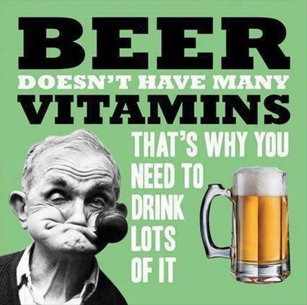 Beer is love beer is life - meme