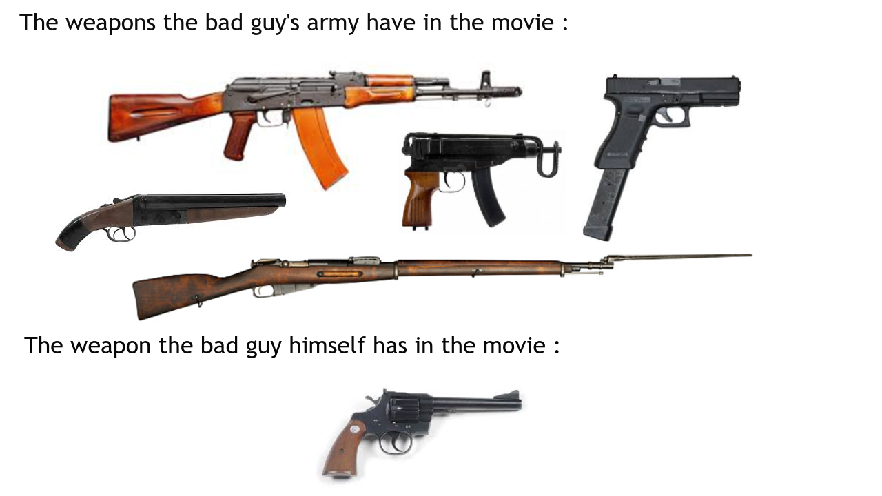Class movie cliche - meme